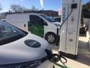 Mataró estrena un prototip de punt de recàrrega ràpida de vehicles elèctrics que funciona amb gas i aporta calor al Tub Verd