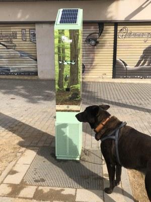 Un dels E-Can instal·lats a Mataró. Foto: Ajuntament