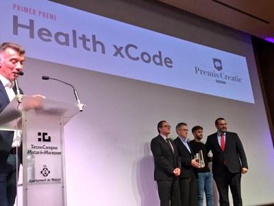 Health xCode, guanyadora del Premi Creatic. Foto: Ajuntament