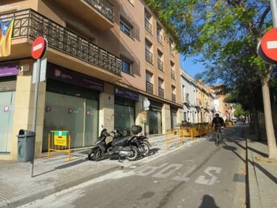 Obres AMSA Camí Ral i Pasqual Madoz. Foto: Aigües de Mataró