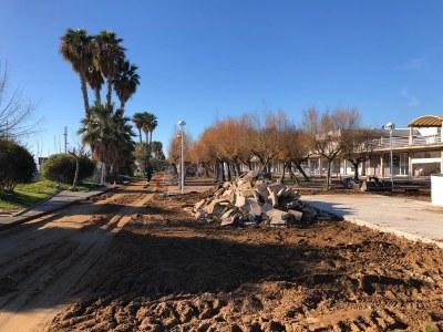 L'enderroc d'antigues edificacions ja ha finalitzat. Foto: Generalitat