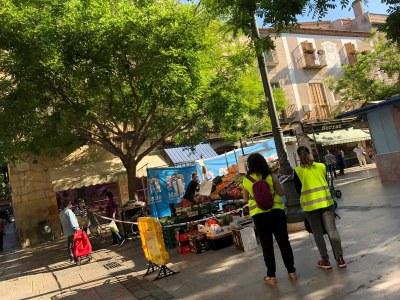 L'Ajuntament ajuda a comerços i establiments a conèixerles condicions sanitàries que han de complir en fase 1
