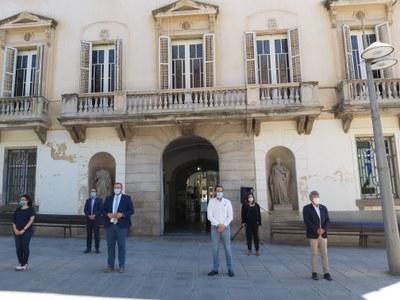 Mataró se suma al dol oficial decretat fins al 6 de juny en record a les víctimes de la COVID-19