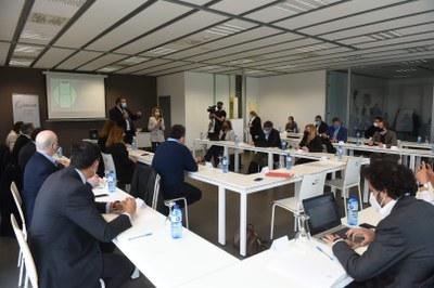 Reunió de treball amb els partners de Gàvius a TecnoCampus.