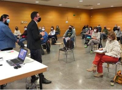 Sessió de benvinguda plans d'ocupació