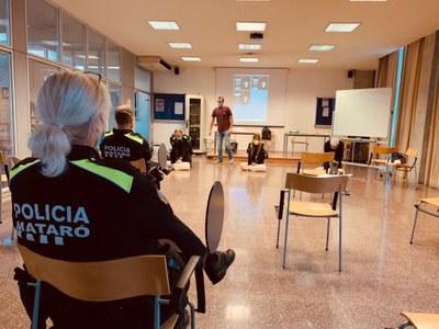 Formació ús desfibril·ladors Policia Local Mataró