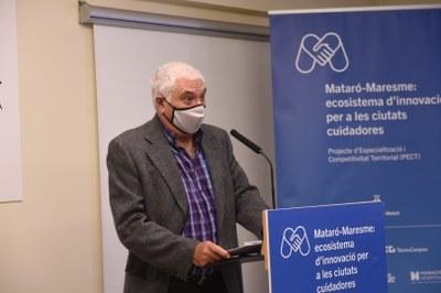 Josep Morgades de la Fundació El Maresme