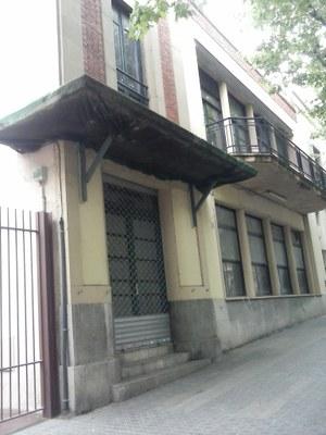 Estado del espacio antes de las obras. Abril del 2016. Foto: Ayuntamiento de Mataró