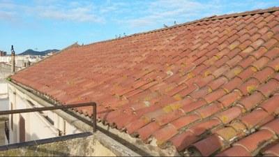 Estado del espacio antes de las obras. Febrero del 2016. Foto: Ayuntamiento de Mataró