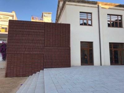 Final de la obra civil. Noviembre del 2020. Foto: Ayuntamiento de Mataró