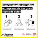 Les mancances dels pressupostos de Mataró