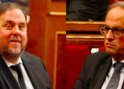 Moció de rebuig a la resolució de la JEC respecte Torra i Junqueras