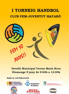 1r Torneig  Handbol, Club FEM – Joventut Mataró