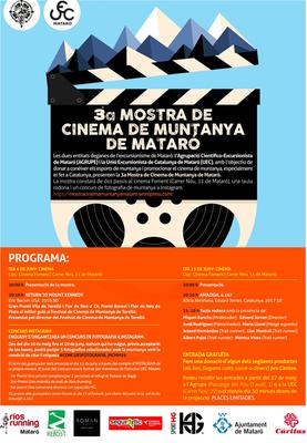 3a Mostra de Cinema de Muntanya