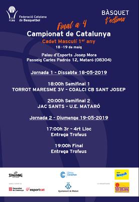 Campionat de Catalunya Cadet Masculí de Bàsquet