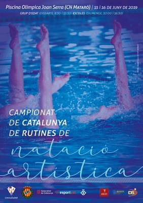 Campionat de Catalunya de Rutines de Natació Artístic...