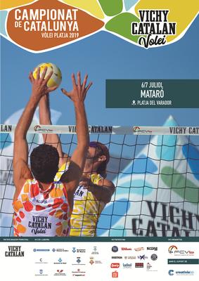 Fase del Campionat de Catalunya de Vòlei Platja,  Vich...