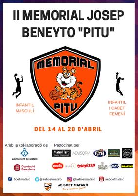 """Memorial Josep """"Pitu"""" Beneyto"""