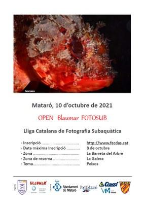 Open Blaumar Fotosub 2021