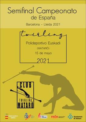 Semifinal Campionat d'Espanya de TWIRLING – Seu - BAR...