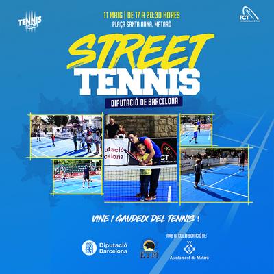 Tennis al carrer
