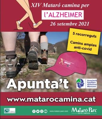 XIV Mataró camina per L'Alzheimer 2021