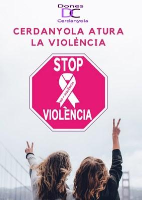 """Acció a les xarxes: """"Cerdanyola atura la violència..."""