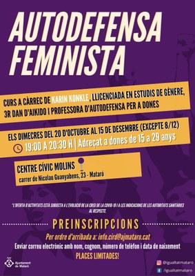 Taller d'autodefensa feminista