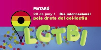 """Festa pels drets del col•lectiu LGTBI """"De tots colors..."""