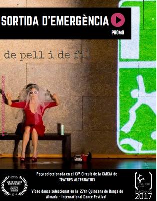 """Teatre: """"Sortida d'emergència, de pell i de fil"""""""