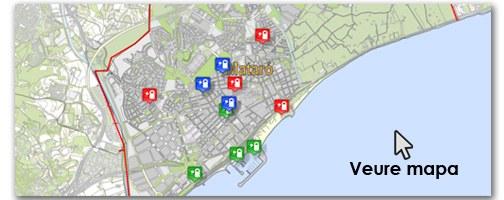 Mapa vehicles elèctrics