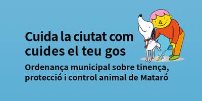 Cuida la ciutat com cuides el teu gos