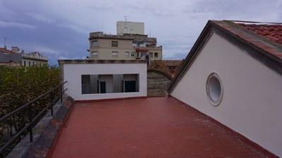 Estat de l'espai abans de les obres. Gener del 2020. Foto: Ajuntament de Mataró