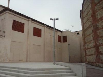 Estat de l'espai abans de les obres. Abril del 2016. Autor: Ajuntament de Mataró