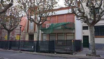 Estat de l'espai abans de les obres. Febrer del 2016. Autor: Ajuntament de Mataró