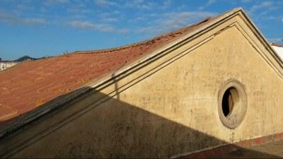 Estat de l'espai abans de les obres. Febrer del 2016. Foto: Ajuntament de Mataró