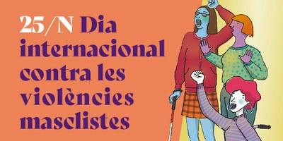 25 de novembre - Dia Internacional contra les Violències de Gènere