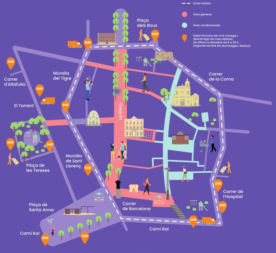 Mapa PIC del Centre