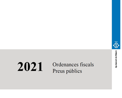 Ordenances Fiscals 2020